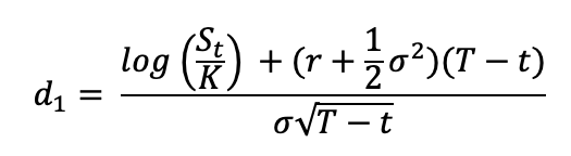 Formula for the D1